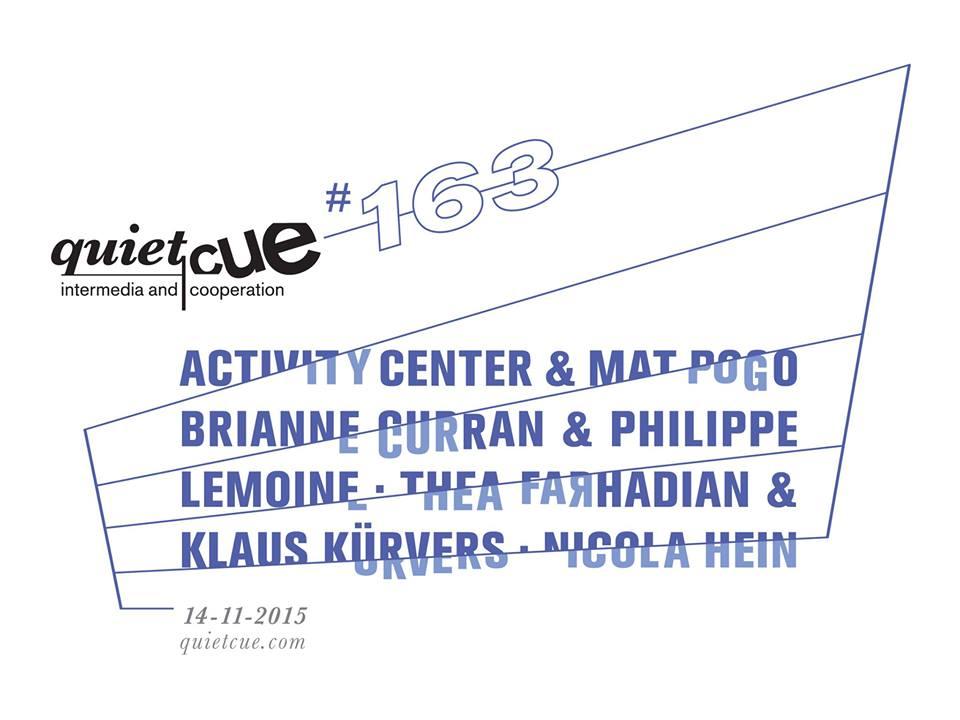 Quiet Cue #163